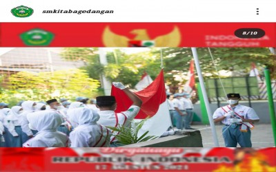Upacara HUT Ke-76 Kemerdekaan SMK ITABA